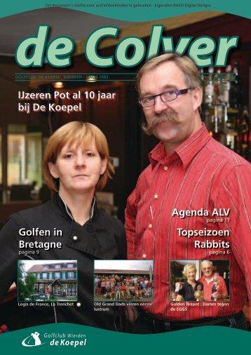 Golfen in Bretagne IJzeren Pot al 10 jaar bij De Koepel Agenda ALV ...