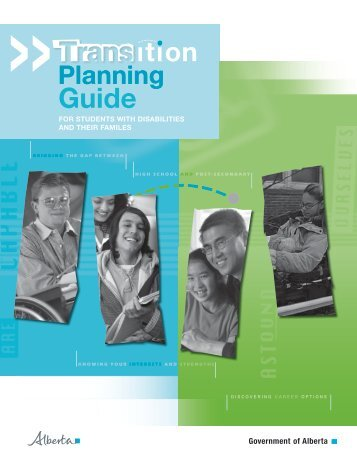 Transition Planning Guide for students with disabilities