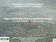 Projekt izrade profila morskih plaža u PGŽ - zavod pgz