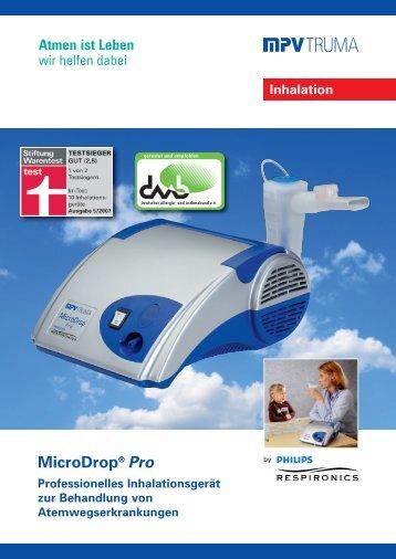 MicroDrop® Pro Inhalationsgerät