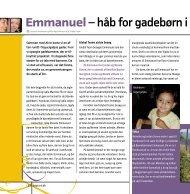 Emmanuel– håb for gadebørn i Honduras - Danske Baptisters ...