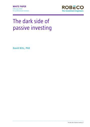 the-dark-side-of-passive-investing-february-2014