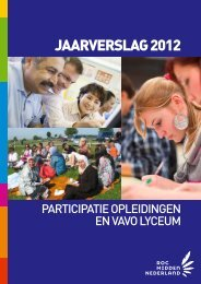 JAARVERSLAG 2012 - ROC Midden Nederland