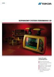 KoparKowy SyStem Sterowania 3D - Topcon Positioning
