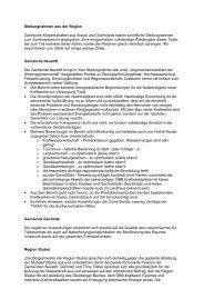 Stellungnahmen - Neustift im Stubaital