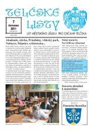 červenec 2011 Akademie, stávka, Prázdniny, vědecký park ... - Telč