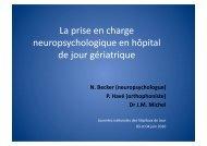 La prise en charge neuropsychologique en hôpital de ... - APHJPA