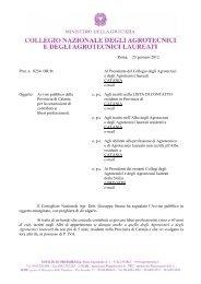 Avviso pubblico della Provincia di Catania per la concessione di ...