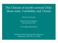 Diapositiva 1 - Universidad de Chile