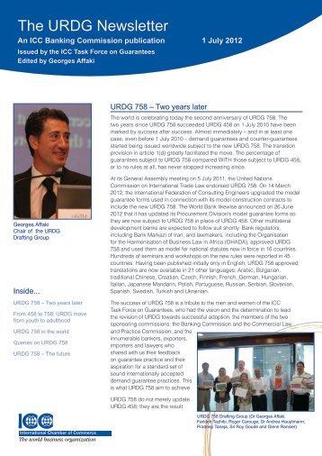 The URDG Newsletter - ICC Deutschland