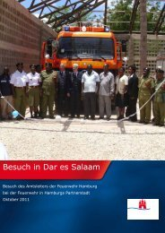 2011 Besuch von FL - Freundeskreis Dar es Salaam – Hamburg eV