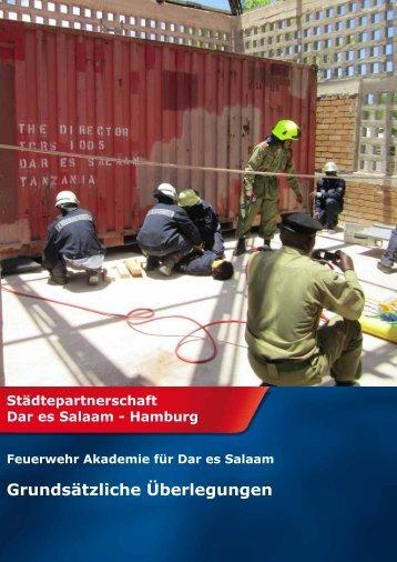 2012 Feuerwehr Akademie - Freundeskreis Dar es Salaam ...