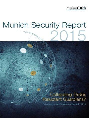 MunichSecurityReport2015