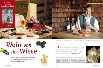 Wein von der Wiese - Allgäuer Gebirgskellerei
