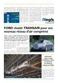 Ford choisit Transair pour son nouveau réseau d'air comprimé. - Page 2