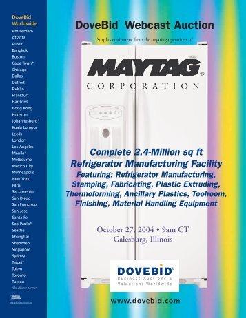 Maytag Virtual Brochure