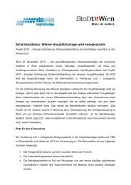 Sima/Vassilakou: Wiener Hauptkläranlage wird energieautark