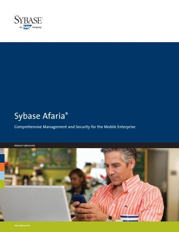 Sybase Afaria product brochure - Belsoft AG