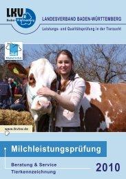 Ergebnisheft MLP 2010 - Landesverband Baden-Württemberg für ...