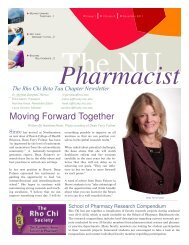 The NU Pharmacist – Fall 2011 - Web Development, Hosting & File ...