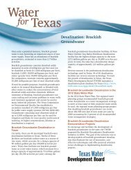 Desalination: Brackish Groundwater - Texas Water Development ...
