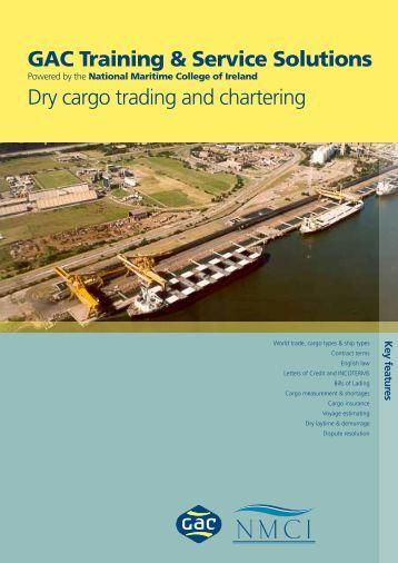 GTSS Dry Cargo Trading & Chartering - GAC