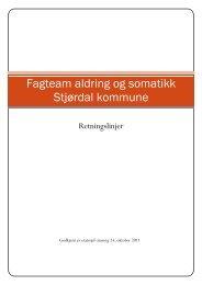 Fagteam aldring og somatikk - Stjørdal kommune