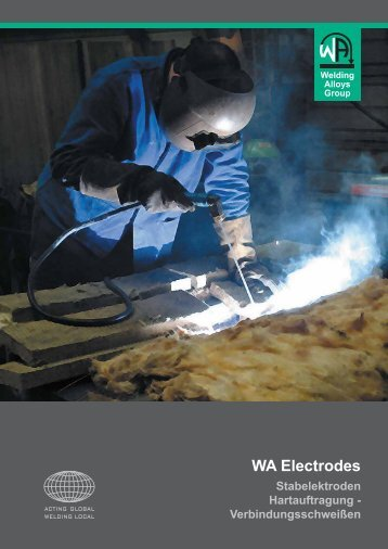 WA Electrodes - The Welding Alloys group