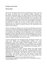 Vermögen nach der Krise Martin Schürz1 Warum ... - Armutskonferenz