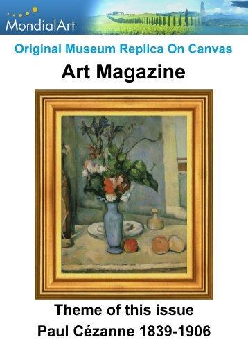 Art Magazine Paul Cézanne