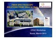 Fiber optic probes - CPAC