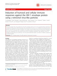 Induction of humoral and cellular immune ... - BioMed Central
