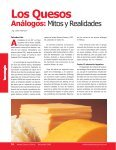 Los Quesos Análogos - AlimentariaOnline - Page 2