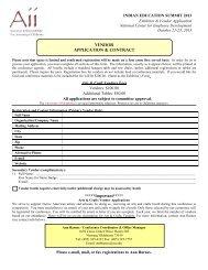 Exhibitor & Vendor Registration Form IES2013 AB.pdf - American ...