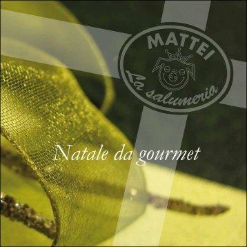 Natale da gourmet - Salumeria Mattei