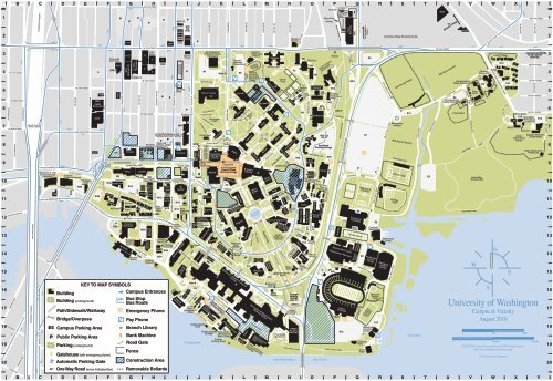 university washington campus map Uw Campus Map Applied Physics Laboratory University Of