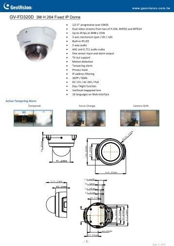 GV-FD320 - Remote-security.com