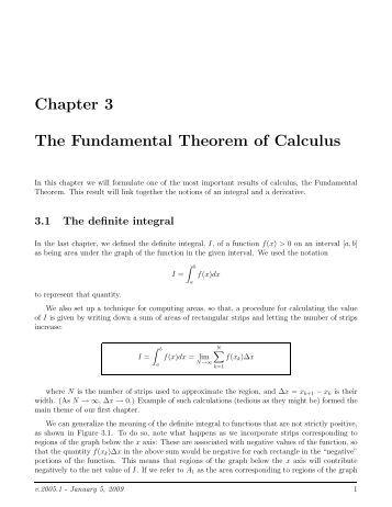 Printables Fundamental Theorem Of Calculus Worksheet 5 4 the fundamental theorem of calculus homework chapter 3 ugrad math ubc ca