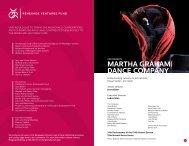Program Book [PDF] - University Musical Society