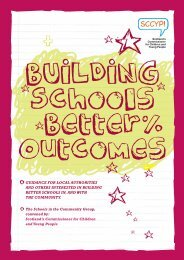 BUILDING Schools Better Outcomes - Scotland's Commissioner for ...