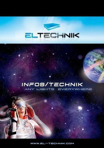 Produktbeschreibung/Technik/Farben - EL-Technik