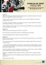 Storie in un tweet - Palazzo Strozzi