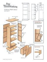 Craftsman Wall Cabinet - The Taunton Press
