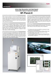 SAKI AOI System Model BF-Planet-X PDF Brochure - HDI Solutions