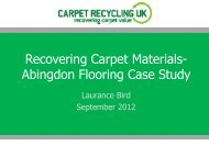 Recovering Carpet Materials- Abingdon Flooring Case Study