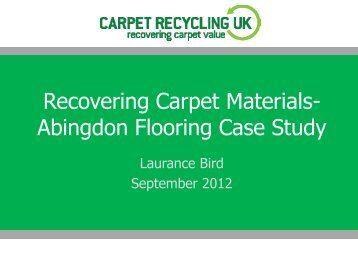 Recovering Carpet Materials- Abingdon Flooring Case Study