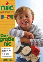 Katalog, 1 Teil, Produkte von nic - Florian Hennig Spielwarenversand
