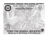 FPM Calendar in PDF Format - Sewanhaka Central High School ...