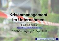 Krisenmanagement im Unternehmen