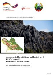 Assessment of Jurisdictional and Project-Level ... - The REDD Desk